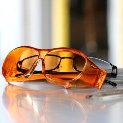 Cocoons Light Guard Glasses Orange Large 2