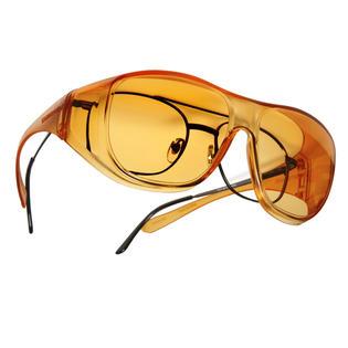 Cocoons Light Guard Glasses Orange Large